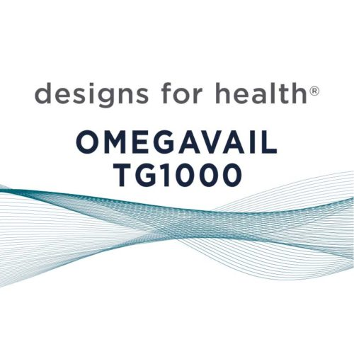 Omegavail TG1000, Designs for Health nutritional supplements