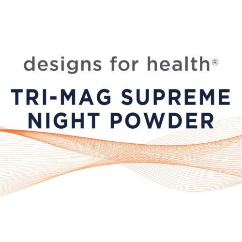 Tri-Mag Supreme Night Powder, Designs for Health nutritional supplements