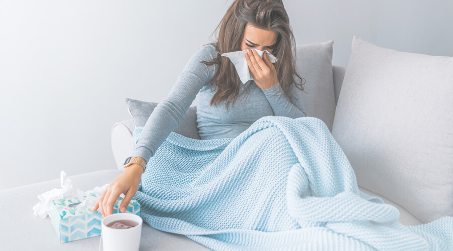 cold flu or allergy
