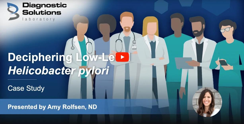 Low level Helicobacter pylori